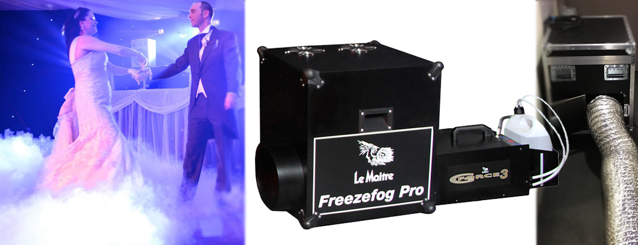 After Dark Productions Le Maitre FreezeFog Pro Dry Ice Machine