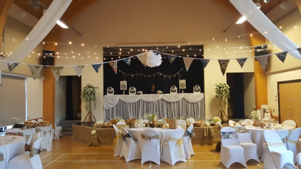 Bracklesham Barn Wedding DJ Setup