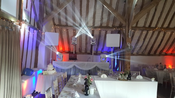 Fitzleroi Barn ultimate wedding dj