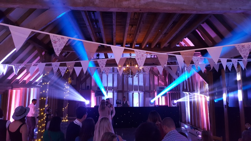 Southend Barns Wedding DJ Setup