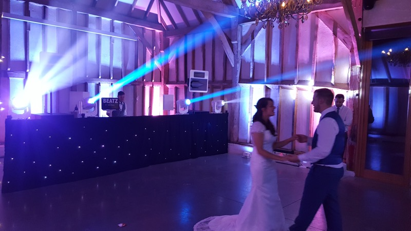 Southend Barns DJ First Dance After Dark Productions