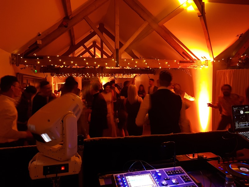 Farbridge Wedding Venue with After Dark DJ Benny E rocking the dance floor