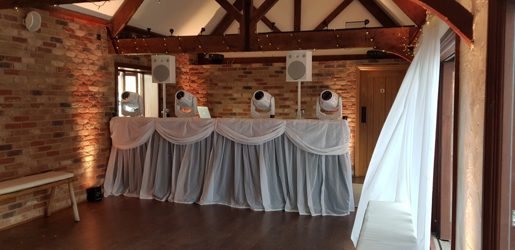 Long Furlong Barn Wedding DJ