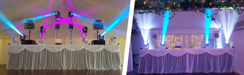 After Dark Productions the best wedding disco & DJ supplier in West Sussex