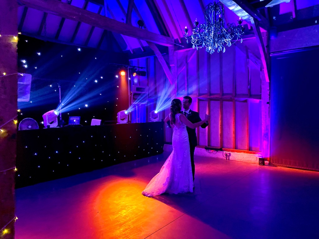 ADP Southend Barns Wedding DJ Gold Package